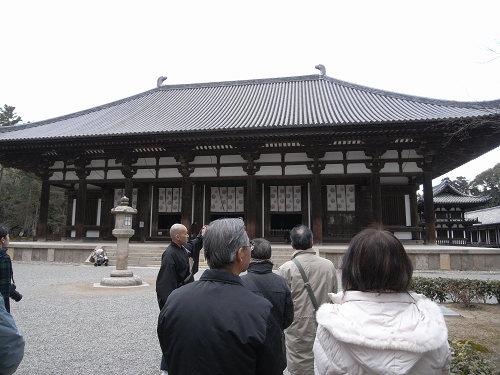 唐招提寺「礼堂」特別公開@奈良うまし冬めぐり-05