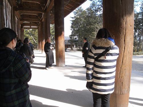 唐招提寺「礼堂」特別公開@奈良うまし冬めぐり-06