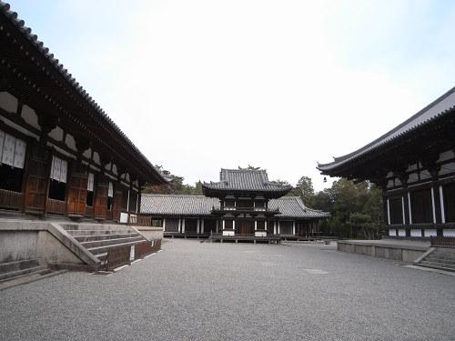 唐招提寺「礼堂」特別公開@奈良うまし冬めぐり-10