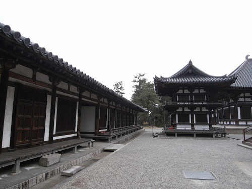 唐招提寺「礼堂」特別公開@奈良うまし冬めぐり-11