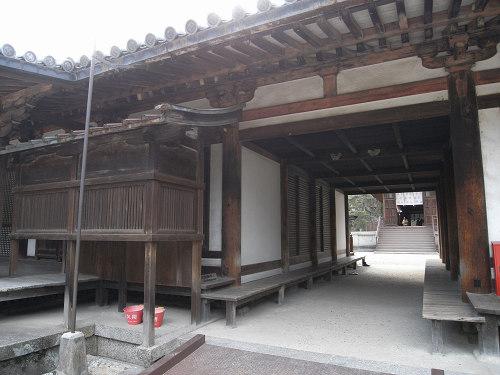 唐招提寺「礼堂」特別公開@奈良うまし冬めぐり-13
