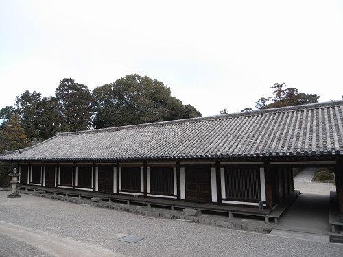 唐招提寺「礼堂」特別公開@奈良うまし冬めぐり-16