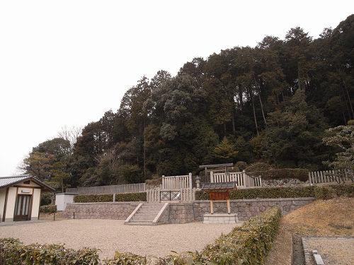 第44代『元正天皇陵』(奈保山西陵)@奈良坂町