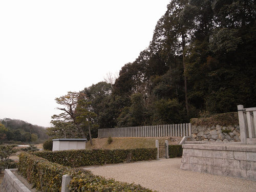 第44代「元正天皇陵」(奈保山西陵)-04