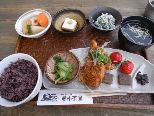飛鳥の食材を使った『農村レストラン 夢市茶屋』@明日香村