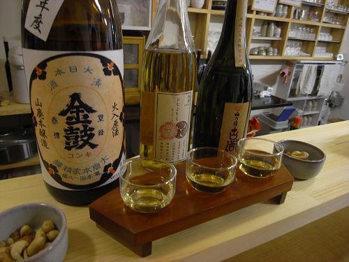 奈良の地酒を味わえるBar『酒商・のより』@奈良三条店