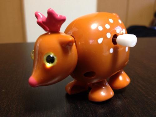 心癒されない『ゼンマイ式の鹿』@Francfranc 橿原店