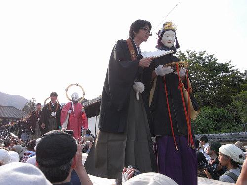 聖衆来迎練供養会式(娑婆堂前)@當麻寺-05