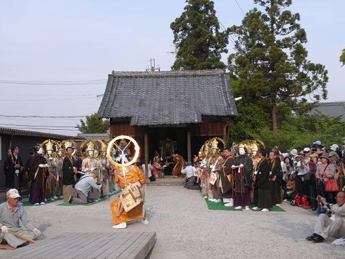 聖衆来迎練供養会式(娑婆堂前)@當麻寺-09