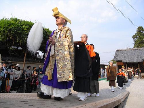 聖衆来迎練供養会式(衣装編)@當麻寺-17