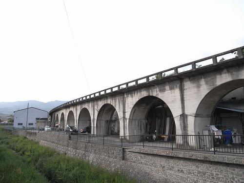 幻の「五新線」の遺構『五新鉄道 高架橋跡』@五條市
