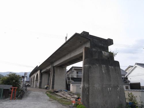 五新鉄道 高架橋跡@五條市-04