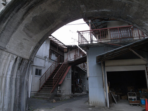 五新鉄道 高架橋跡@五條市-09