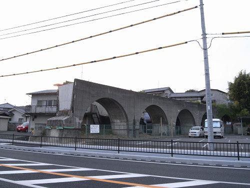 五新鉄道 高架橋跡@五條市-11