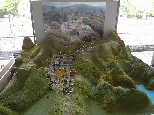 内山永久寺 復元模型@天理市役所-05