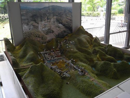 内山永久寺 復元模型@天理市役所-06