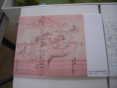 内山永久寺 復元模型@天理市役所-09