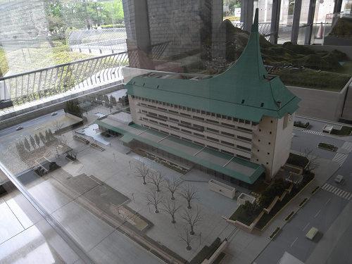 内山永久寺 復元模型@天理市役所-11