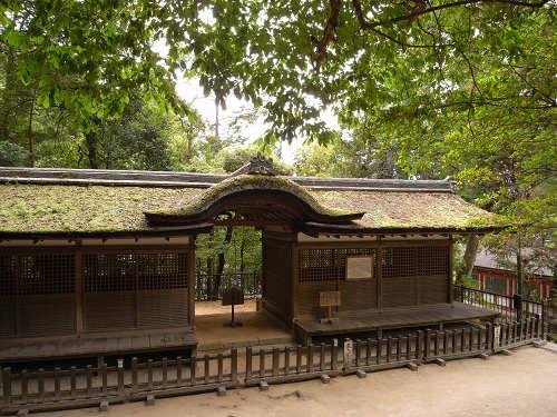 内山永久寺から移築された『出雲建雄神社拝殿』@石上神宮