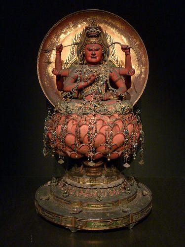 愛染明王坐像(内山永久寺伝来)@東京国立博物館-01