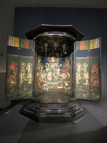 愛染明王坐像(内山永久寺伝来)@東京国立博物館-13