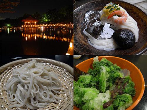 奈良の夏のオススメ【観光地・素麺・お蕎麦・かき氷】