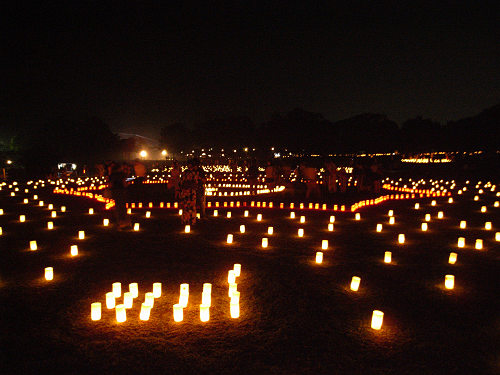 15周年!『2013なら燈花会』@奈良公園-17