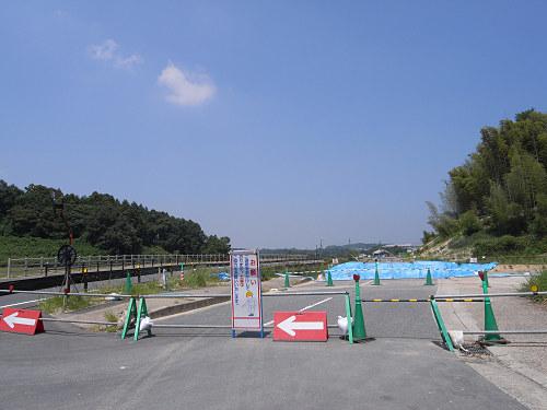 一般公開目前のキトラ古墳@明日香村-09