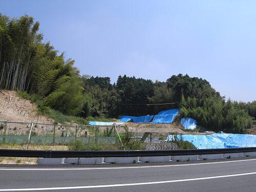 一般公開目前のキトラ古墳@明日香村-10