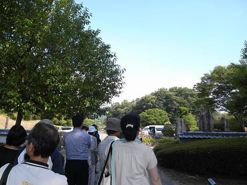 最初で最後の『キトラ古墳石室の公開』@明日香村-06