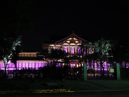 光のオルゴールinライトアッププロムナード@仏教美術資料研究センター-03