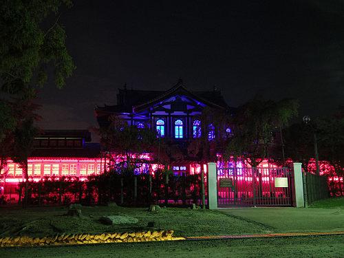 光のオルゴールinライトアッププロムナード@仏教美術資料研究センター-04
