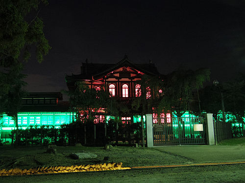 光のオルゴールinライトアッププロムナード@仏教美術資料研究センター-06