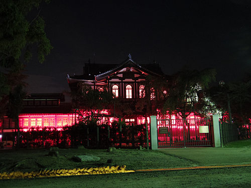 光のオルゴールinライトアッププロムナード@仏教美術資料研究センター-07