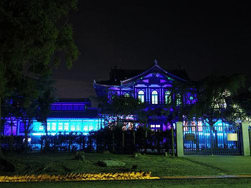 光のオルゴールinライトアッププロムナード@仏教美術資料研究センター-08