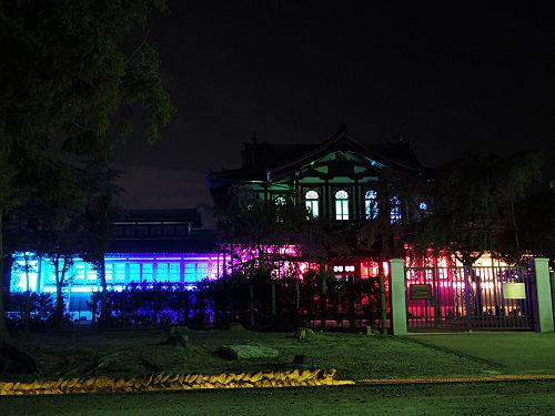 『光のオルゴールinライトアッププロムナード』開催中