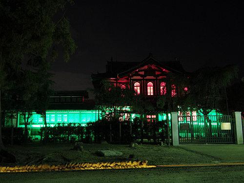 光のオルゴールinライトアッププロムナード@仏教美術資料研究センター-10