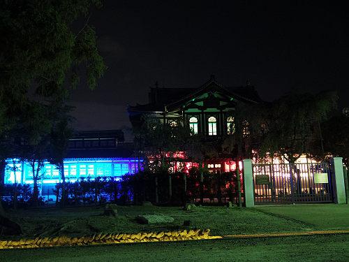 光のオルゴールinライトアッププロムナード@仏教美術資料研究センター-12