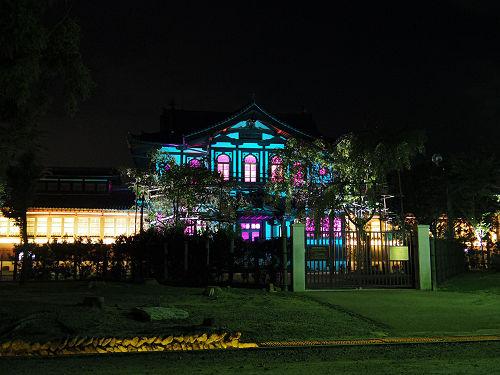 光のオルゴールinライトアッププロムナード@仏教美術資料研究センター-13