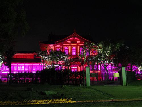 光のオルゴールinライトアッププロムナード@仏教美術資料研究センター-14