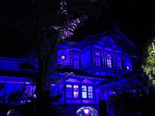 光のオルゴールinライトアッププロムナード@仏教美術資料研究センター-15