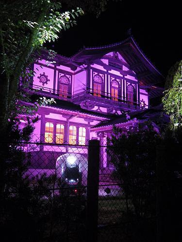 光のオルゴールinライトアッププロムナード@仏教美術資料研究センター-16