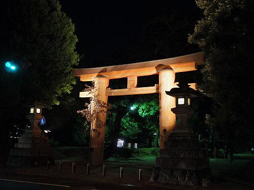 光のオルゴールinライトアッププロムナード@仏教美術資料研究センター-19