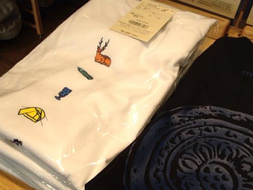 『奈良モチーフTシャツ』3種@モンベル東大寺門前店-06