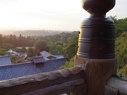 【写真】東大寺二月堂の夕暮れ-06