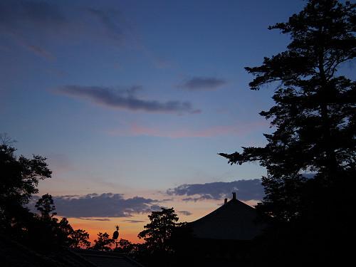 【写真】東大寺二月堂の夕暮れ-16