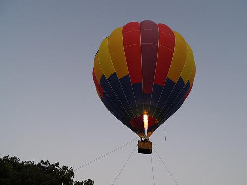 『熱気球に乗って光の地上絵を見よう!』@飛鳥光の回廊-03
