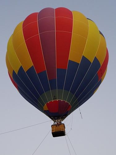 『熱気球に乗って光の地上絵を見よう!』@飛鳥光の回廊-04