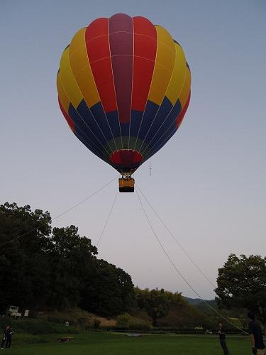 『熱気球に乗って光の地上絵を見よう!』@飛鳥光の回廊-05