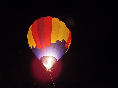 『熱気球に乗って光の地上絵を見よう!』@飛鳥光の回廊-17